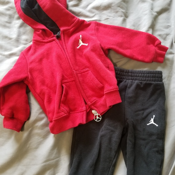 Hoodie With Matching Sweat Pants